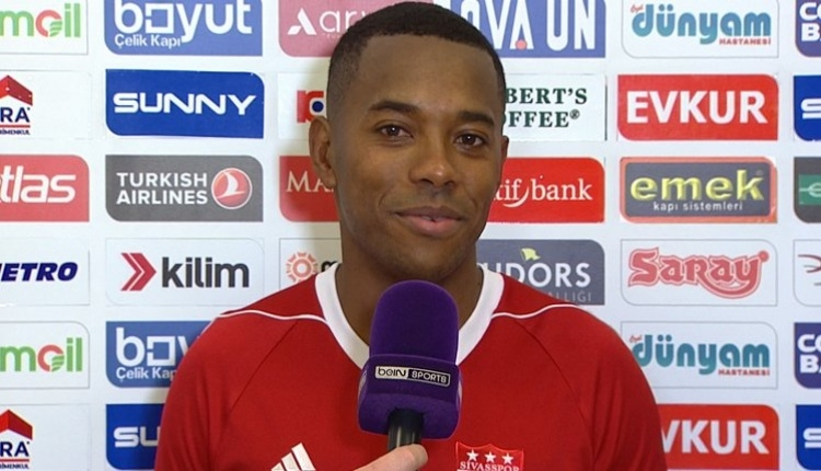Robinho, Sivasspor forması ile ilk golünü attı