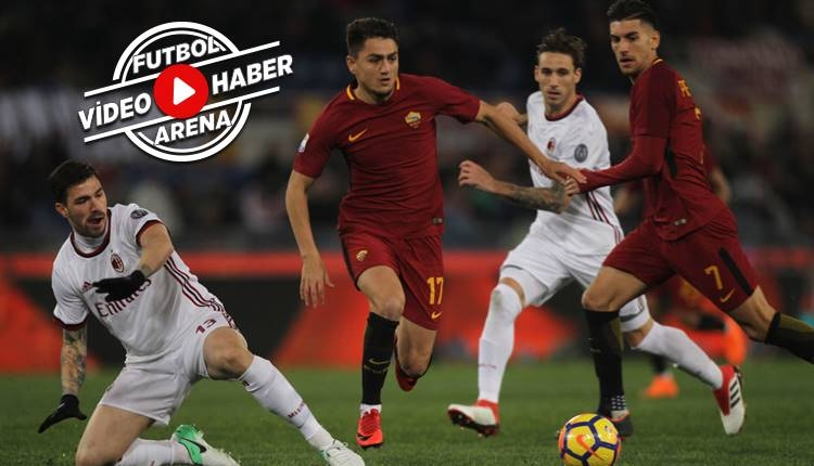 Roma 0-2 Milan maçı özeti ve golleri (İZLE)