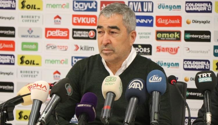 Samet Aybaba: ''Galip gelebilirdik''