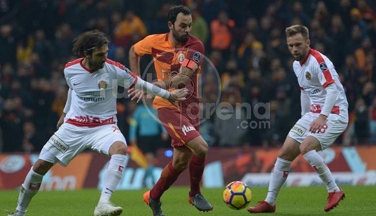 Selçuk İnan'dan, Antalyaspor maçında kusursuz performans