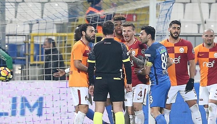Serdar Aziz'den Halis Özkahya'ya maç sonu tepki