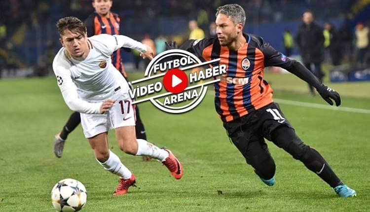 Shakhtar Donetsk 2-1 Roma maçı özeti ve golleri (İZLE)