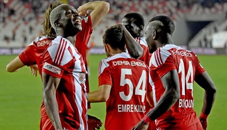 Sivasspor yenilmezlik serisini 5 maça taşıdı