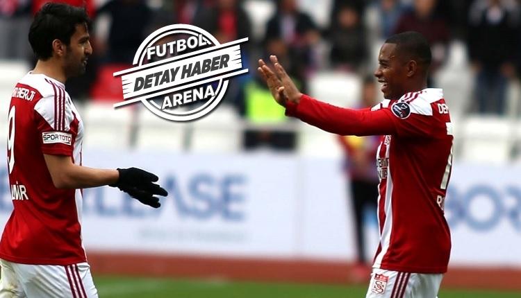 Sivasspor'da Robinho şov! Osmanlıspor maçının yıldızı oldu