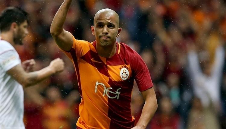 Sofiane Feghouli, Sivasspor maçında yokları oynadı