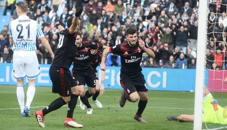 SPAL 0-4 Milan maçı özeti ve golleri (İZLE)