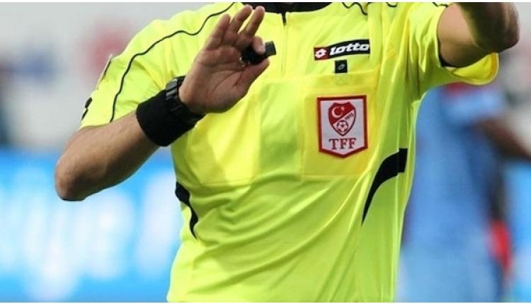 Spor Toto Süper Lig'de haftanın hakemleri açıkladı