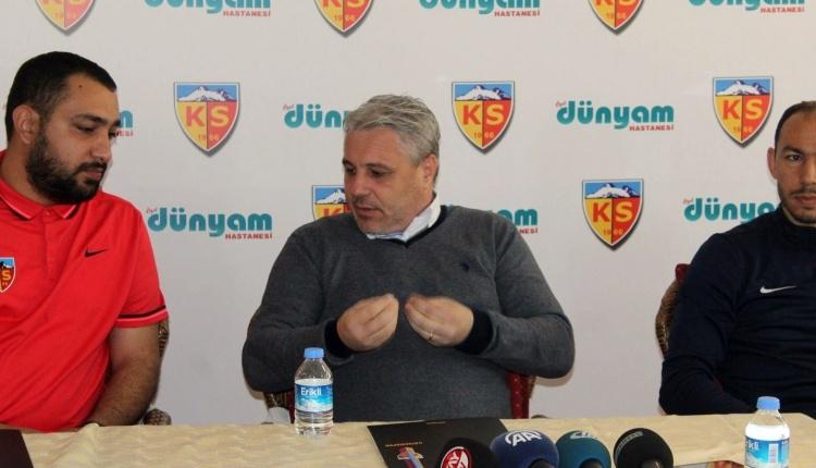 Sumudica: ''Herkes Kayserispor'un yanında olsun''