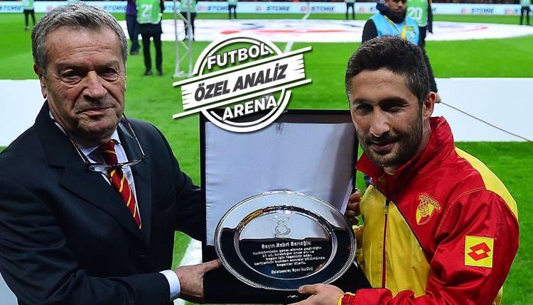 Süper Lig'in en çok isabetli orta kesen sağ beki Sabri Sarıoğlu!