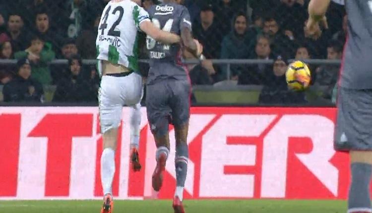Talisca'dan Konyaspor maçında Alper Ulusoy'a isyan! Kaleciyle karşı karşıya...