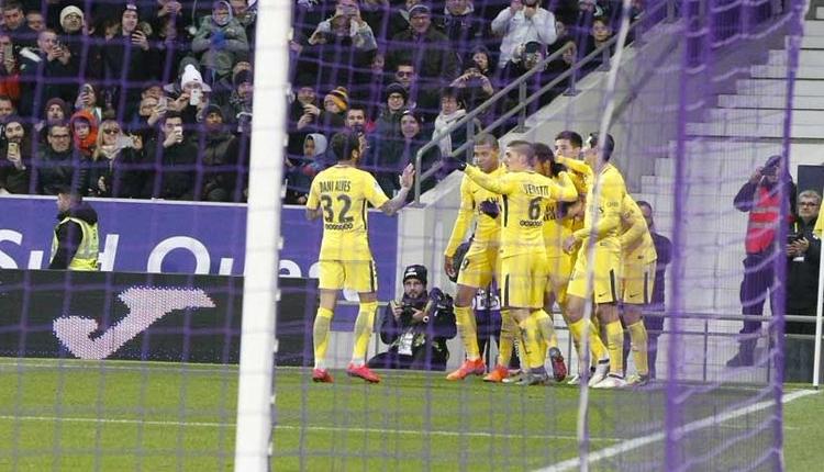 Toulouse 0-1 PSG maç özeti ve golü (İZLE)