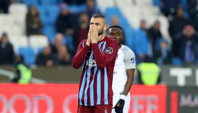 Trabzonspor şampiyonluk yolundan uzaklaşıyor