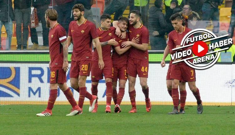 Udinese 0-2 Roma maçı özeti ve golleri (İZLE)
