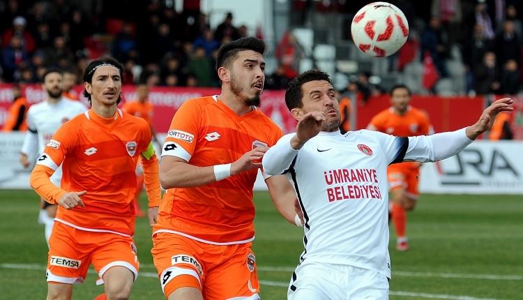 Ümraniyespor 1 - 0 Adanaspor maç özeti ve golleri İZLE