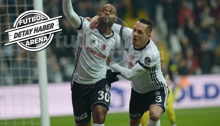 Vagner Love Beşiktaş'ta ilk golünü attı! Dikkat çeken detay