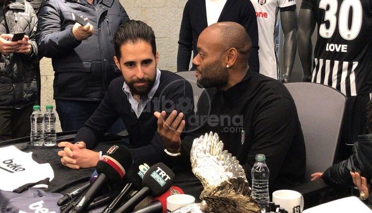 Vagner Love: 'Rekabetin sonu Beşiktaş'a yarayacak