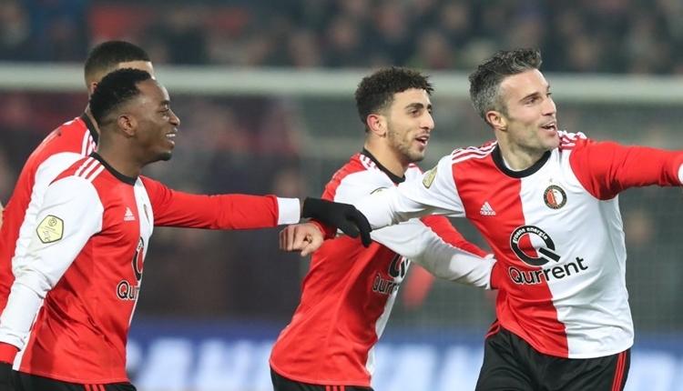 Van Persie, Feyenoord ile ilk golünü attı (İZLE)