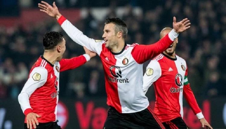 Van Persie Feyenoord'da yine golünü attı (İZLE)