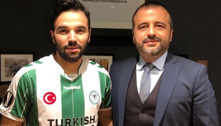 Volkan Şen, Atiker Konyaspor formasını giydi