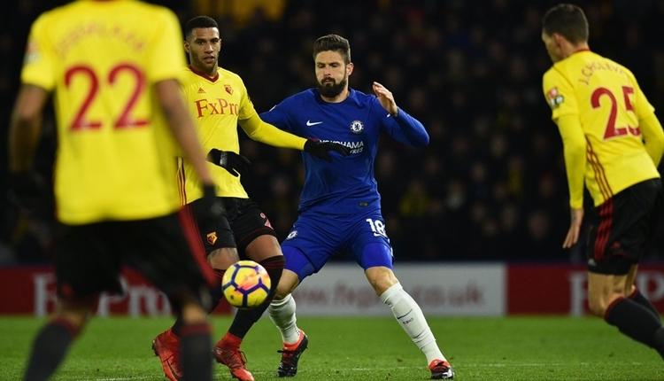 Watford 4-1 Chelsea maç özeti ve golleri (İZLE)