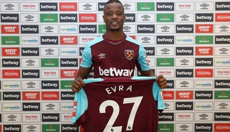 West Ham United, Patrice Evra transferini açıkladı