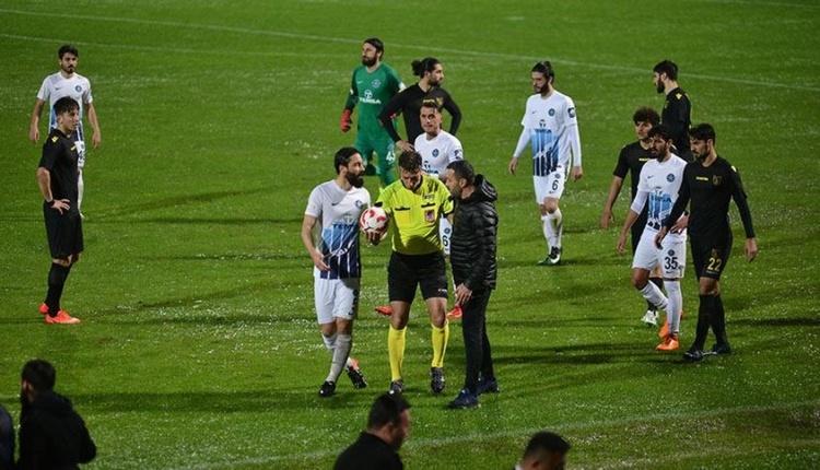 Yarıda kalan Adana Demirspor - İstanbulspor maçı oynanacak