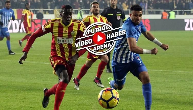 Yeni Malatyaspor 1-1 Kasımpaşa maçı özeti ve golleri (İZLE)