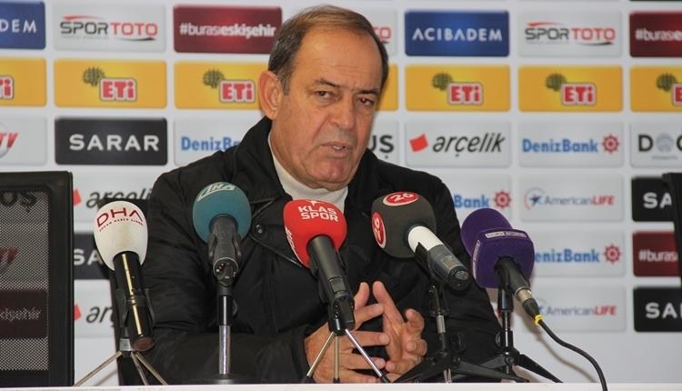 Yücel İldiz: 'Eskişehirspor olarak kötü günümüzde yakalandık'