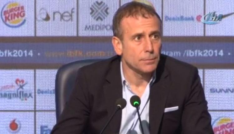 Abdullah Avcı: '10 kişiyle Beşiktaş'a pozisyon vermedik'