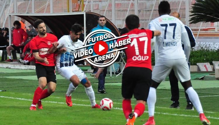 Adana Demirspor 0-1 Ümraniyespor maçı özeti ve golü (İZLE)