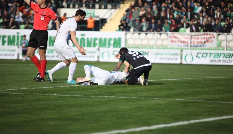 Adana Demirspor'da Sezer Özmen'in ayağı kırıldı