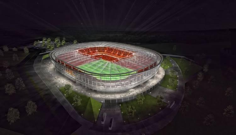 Adana Stadı için Vodafone Park'tan esinlenildi!