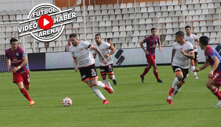 Adanaspor 1-3 Altınordu maçı özeti ve golleri (İZLE)