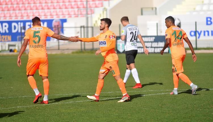 Alanyaspor 2-2 Tosno maçı özeti ve golleri