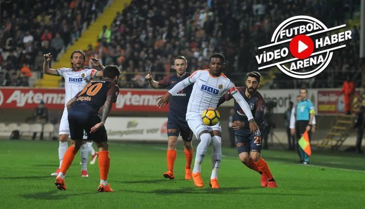 Alanyaspor 4-1 Başakşehir maçı özeti ve golleri (İZLE)