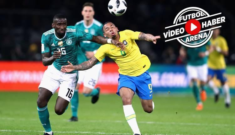 Almanya 0-1 Brezilya maç özeti izle (Talisca oynadı mı?)