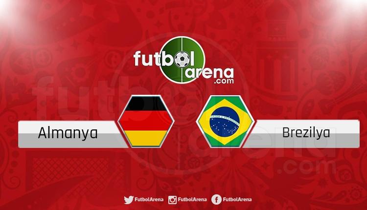 Almanya - Brezilya maçı Ülke TV şifresiz canlı izle (Talisca ilk 11'de mi?)