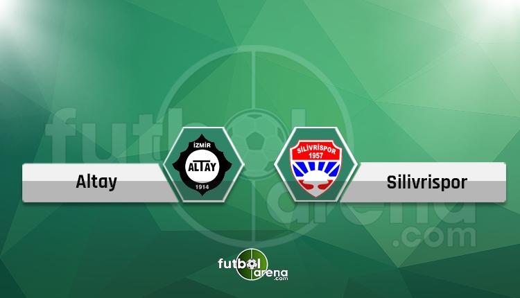 Altay - Silivrispor maçı (CANLI) - Hangi kanalda?