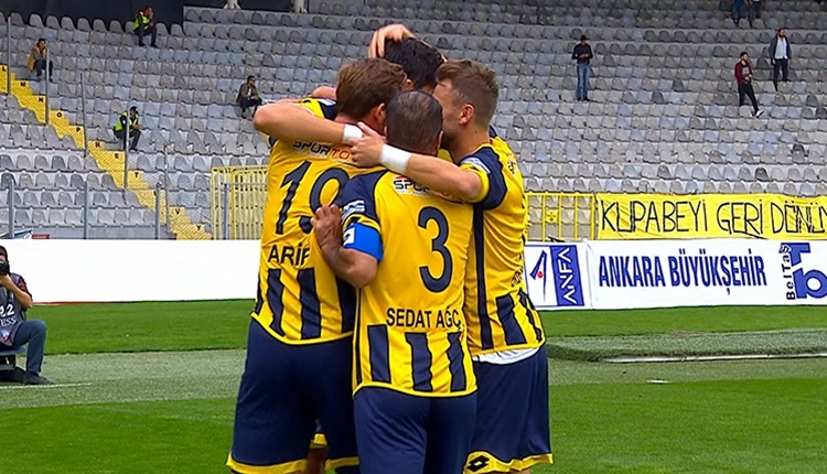 Ankaragücü 2 - 1 Adanaspor maçının özeti ve golleri (İZLE)