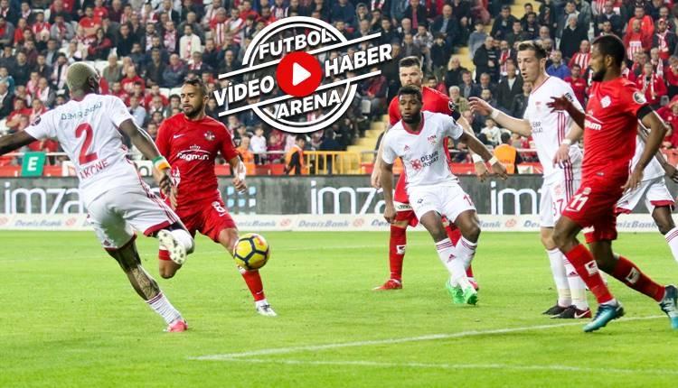 Antalyaspor 1-4 Sivasspor maçı özeti ve golleri (İZLE)