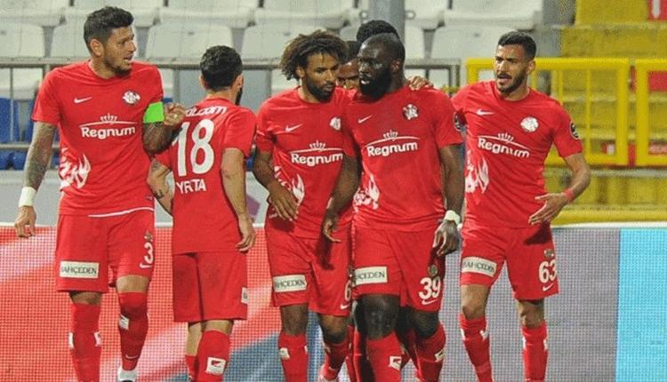 Antalyaspor'da beklenen deplasman galibiyeti sevinci