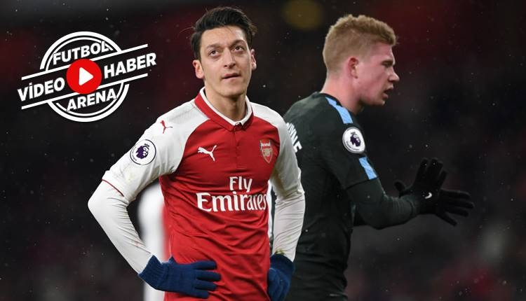 Arsenal 0-3 Manchester City maçı özeti ve golleri (İZLE)