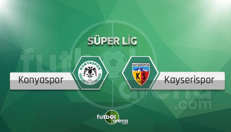 Atiker Konyaspor - Kayserispor beIN Sports canlı ve şifresiz izle