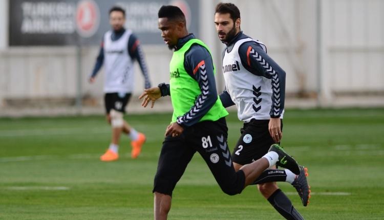 Atiker Konyaspor'da Galatasaray mesaisi sürüyor