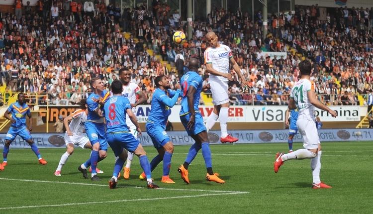 Aytemiz Alanyaspor 1 - 1 Göztepe maçın özeti ve golleri (İZLE)