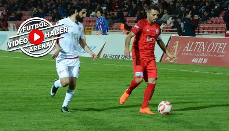 Balıkesirspor 0-2 Boluspor maçı özeti ve golleri (İZLE)
