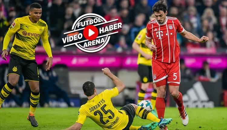 Bayern Münih 6-0 Borussia Dortmund maçı özeti ve golleri (İZLE)