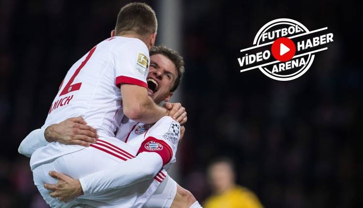 Bayern Münih, Freiburg'u rahat geçti: 4-0