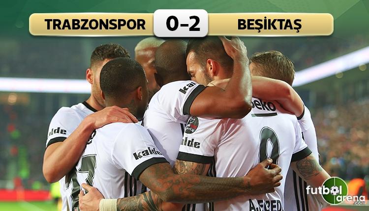 Beşiktaş, Trabzon'da 2. yarıda açıldı