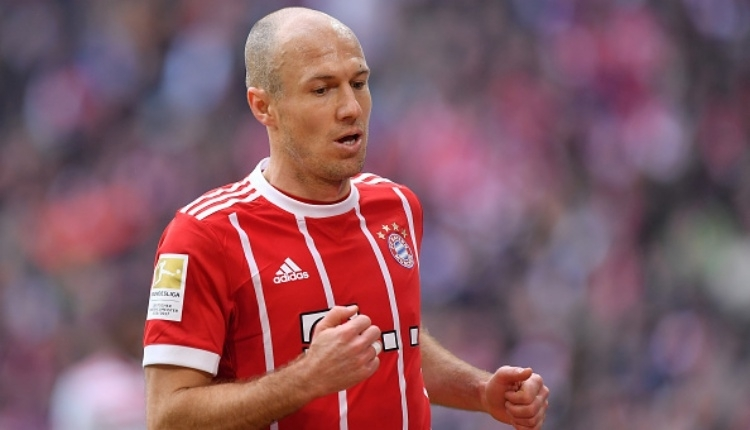 Beşiktaş için Arjen Robben iddiası! Transfer olacak mı?